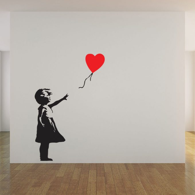 Banksy Reach For Love