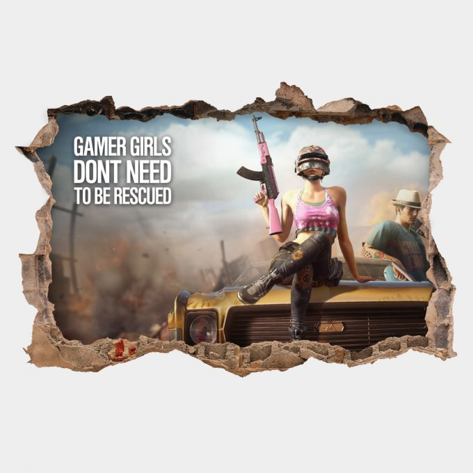 PUBG Gamer Girls Dont Need Rescued
